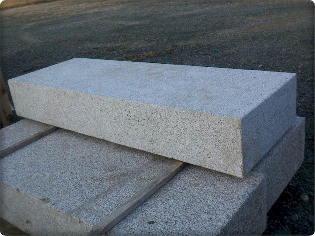 blockstufen aus naturstein granit