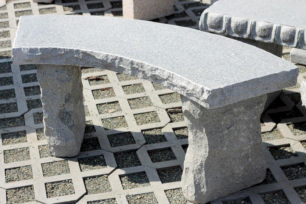 gartenbank erfurt aus granit. Black Bedroom Furniture Sets. Home Design Ideas