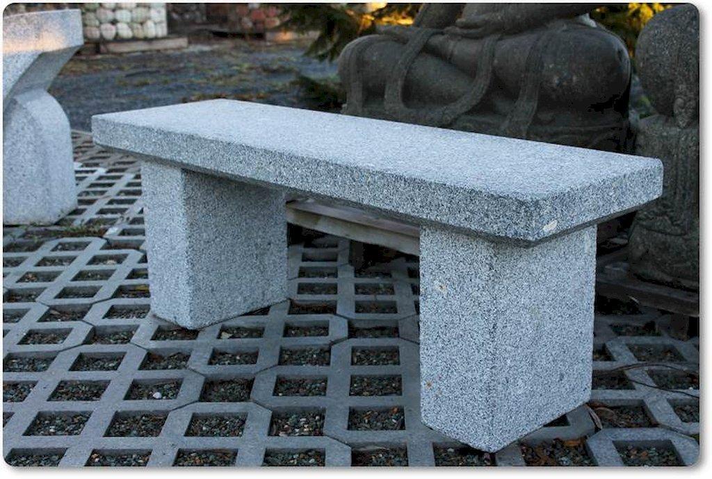 Gartenbank aus granit - Gartenbank aus stein ...