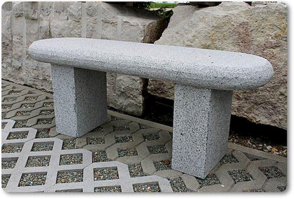 gartenbank aus naturstein granitbank sitzm bel terrasse. Black Bedroom Furniture Sets. Home Design Ideas