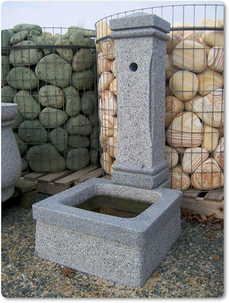 gartenbrunnen aus naturstein f r den garten. Black Bedroom Furniture Sets. Home Design Ideas