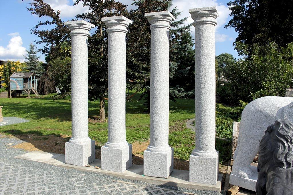 Säulen aus Naturstein Granit Granitsäulen