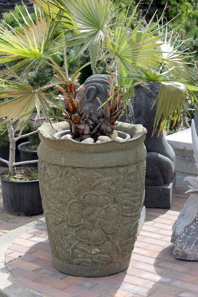 Pflanztrog bertopf terrasse gartendekoration pflanzgef trog bepflanzung stein ebay - Fenster zumauern welcher stein ...