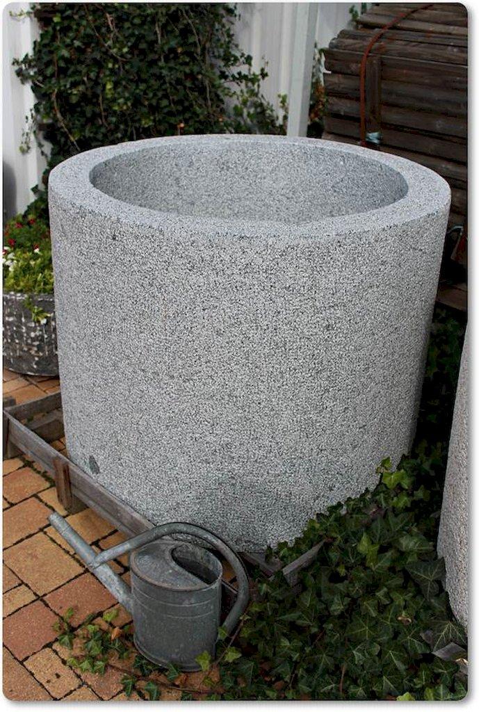 Pflanzkübel Steinkübel rund für den Garten