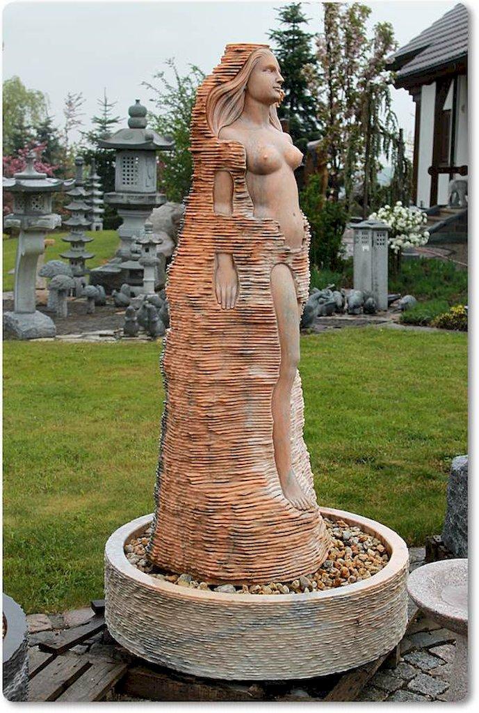 wasserspiel springbrunnen steinfigur marmor. Black Bedroom Furniture Sets. Home Design Ideas