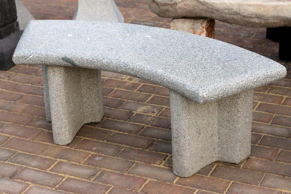 steinbank leipzig gartenbank sitzm bel gartenm bel natursteinbank terrasse bank ebay. Black Bedroom Furniture Sets. Home Design Ideas
